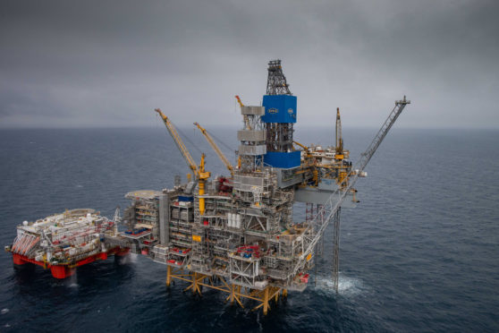 Equinor hosted an opening ceremony for the Mariner field last week. Picture by Abermedia / Michal Wachucik