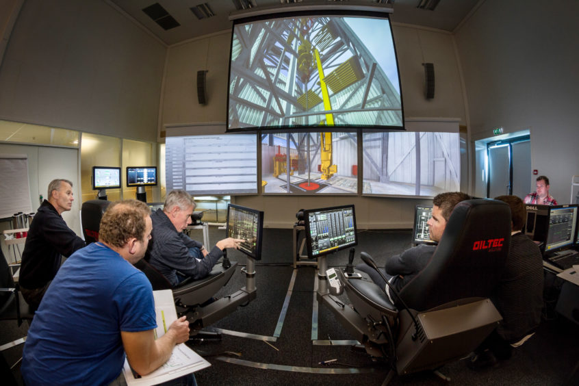Oiltec makes simulators for the oil and gas industry.