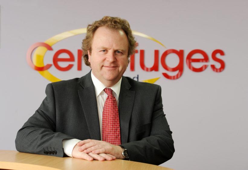 Jim Shiach, managing director of Centrifuges Un-Limited