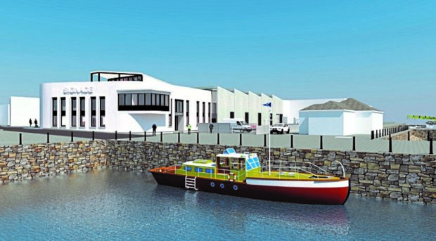 Impressions of the Moray East offshore project marine centre