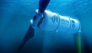 Nova Innovation competes tidal turbine able to cut technology costs by 30%