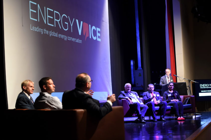 Energy Voice Tracking Transition, held at International School of Aberdeen.