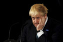 Prime Minister Boris Johnson giving a speech on domestic priorities at the Science and Industry Museum in Manchester. Rui Vieira/PA Wire