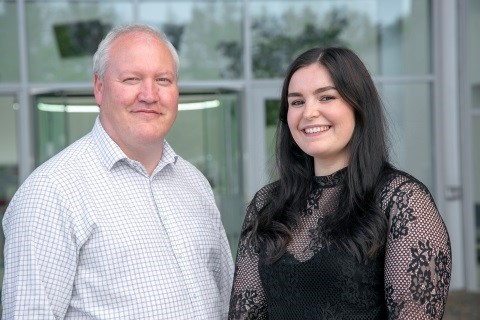 Paul Kelly and Rachel Souter are now enjoying a career in the subsea sector thanks to Subsea 7's Engineering Conversion Programme