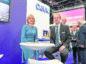 Deirdre Michie and OGUK market intelligence manager Ross Dornan