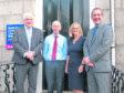 L-R - Callum McDonald, Stewart Smith, Ishbel Nunn and Aaron Doran
