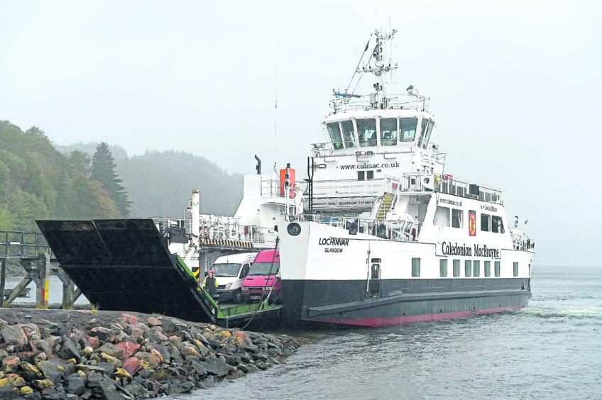 FRONTRUNNER: The MV Lochinvar uses a low-carbon hybrid system