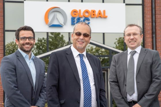 Global E&C Corporate Development Director, Terry Allan - Global Energy Group Chairman, Roy MacGregor and Global E&C Managing Director, Derek Mitchell