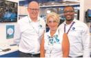 Chris Oliver, CFO; Jeanette Forbes, CEO; Chika Uduma, VP Sales & Marketing.