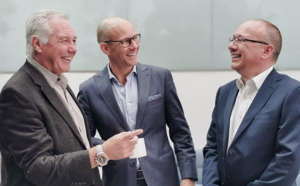 Ian Burdis, Svein Sollund and Andrew Stannard.