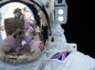 Astronaut Tim Peake said he will never forget his first walk in space as he posted a selfie of his historic feat. Pic: @astro_timpeake / Twitter