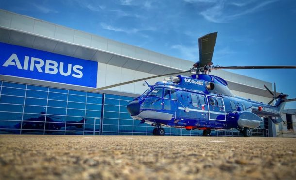 Airbus celebrated delivery of its 1000th Super Puma over the weekend