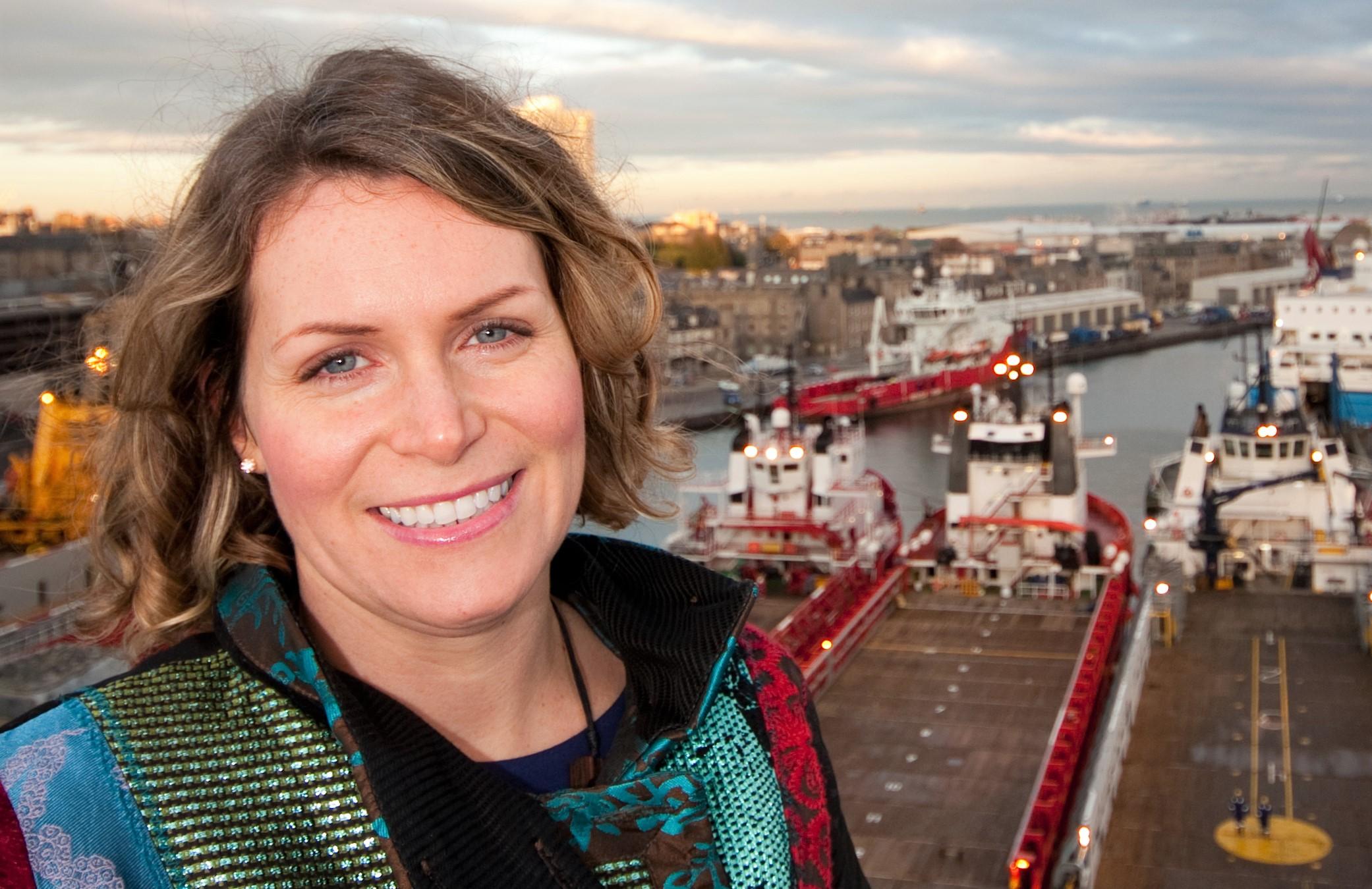 Karen Blanc, chair of the AXIS Network gender balance initiative.