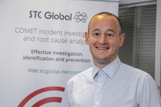 Mark Rushton, managing director of Aberdeen-headquartered STC Global