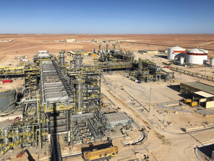 Neptune's co-operated Touat development in Algeria will be in production for more than 20 years.