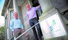 L-R Kevin Moran, managing director at Tymor Marine and Chris Cooper, account manager at Scottish Enterprise.