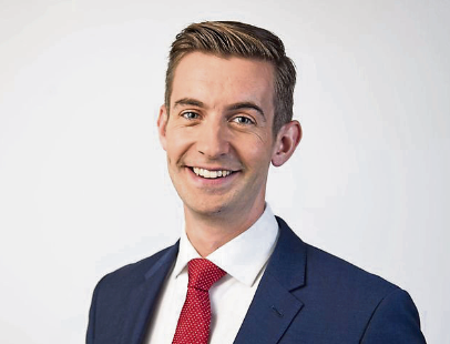 breaking the news:  Ben Thompson has worked as business producer, presenter and reporter for the BBC