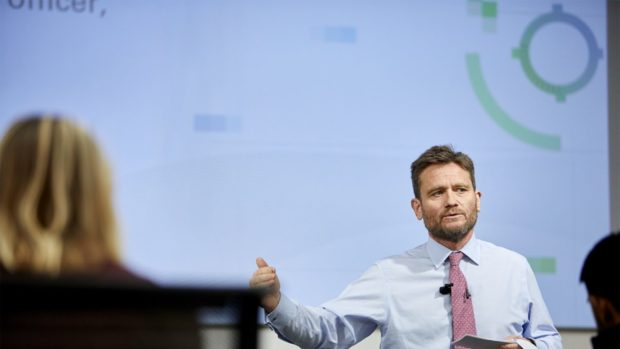 Gordon Birrell, BP's chief operating officer for production, transformation and carbon