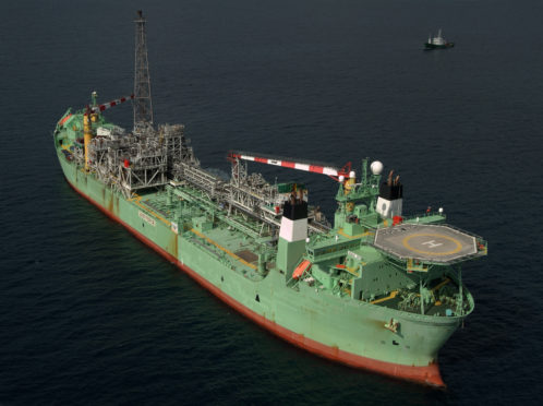 The Haewene Brim FPSO, which serves Shell's Pierce field.
