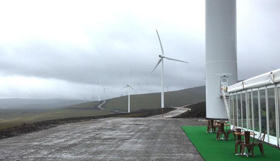 EDF's Dorenell wind farm in Moray.