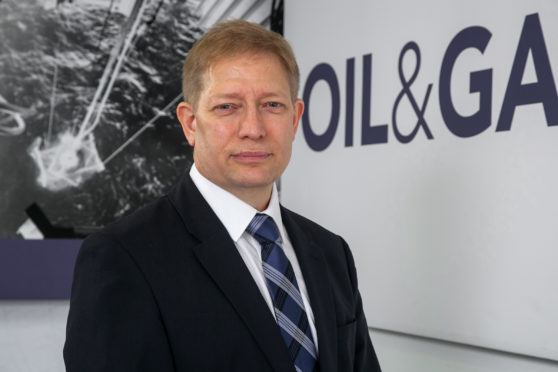 Matt Abraham, supply chain and HSE director at Oil and Gas UK