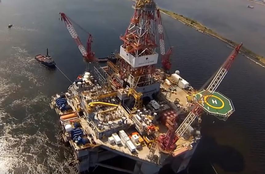 Diamond Offshore's Ocean Endeavor.