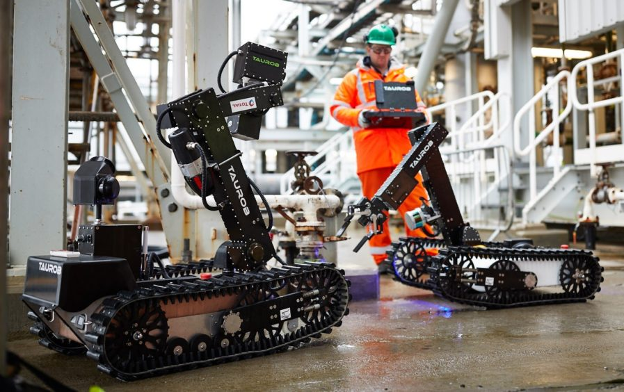 The OGTC has worked with Taurob and Total on a world-first autonomous robot for asset inspections.