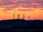 Power lines in Johannesburg