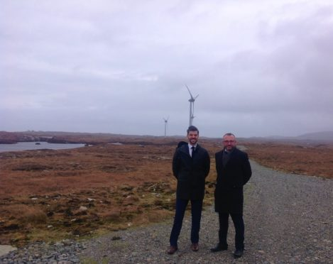 L-R, Allan Chalmers, Senior Relationship Manager at Lombard Asset Finance, and Iain McFee, Senior Relationship Manager at Royal Bank of Scotland.