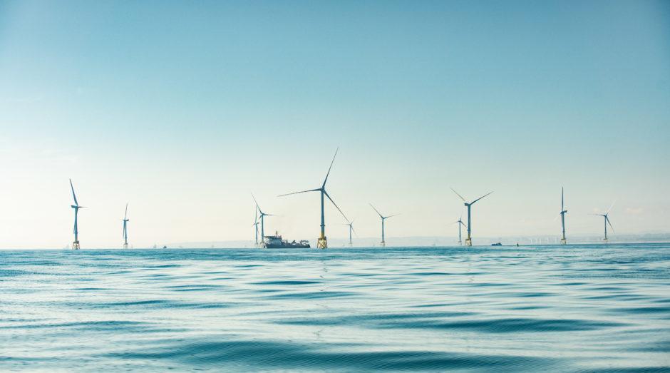 Aberdeen Bay's European Offshore Wind Deployment Centre (EOWDC).