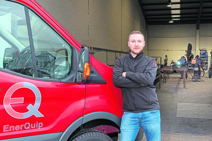 Enerquip Director Andrew Robins