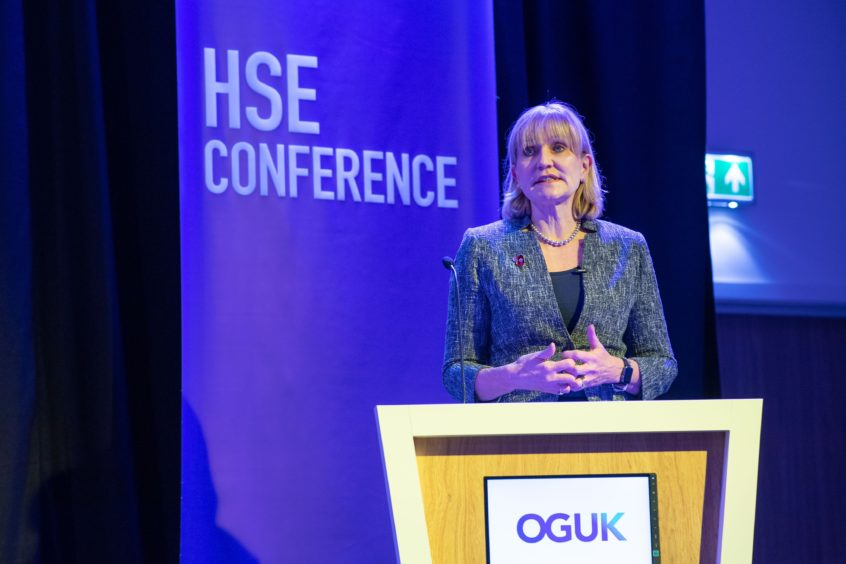 Oil and Gas UK CEO Deirdre Michie. Pic: Michal Wachucik/ Abermedia