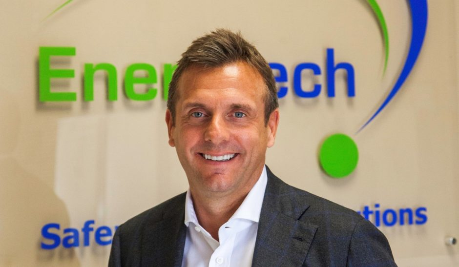 EnerMech new CEO,Christian Brown. by John Everett, 2019