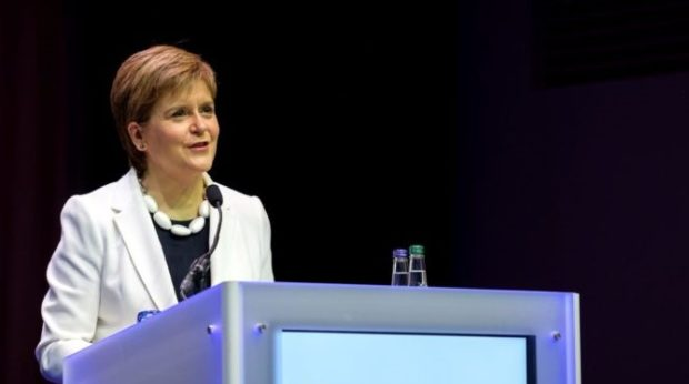 First Minister of Scotland, Nicola Sturgeon.