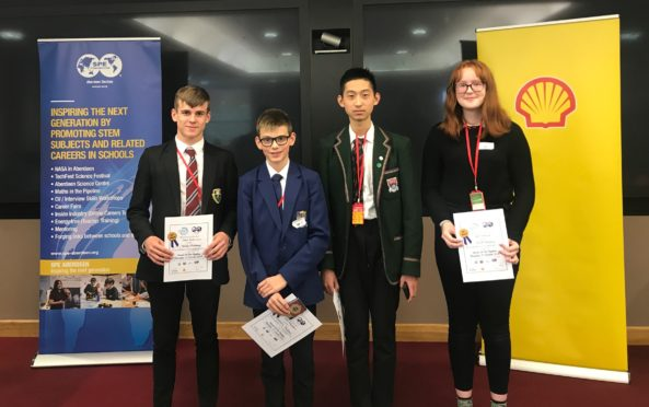 Pupil's at TechFest's Maths in the Pipeline 2019 event.