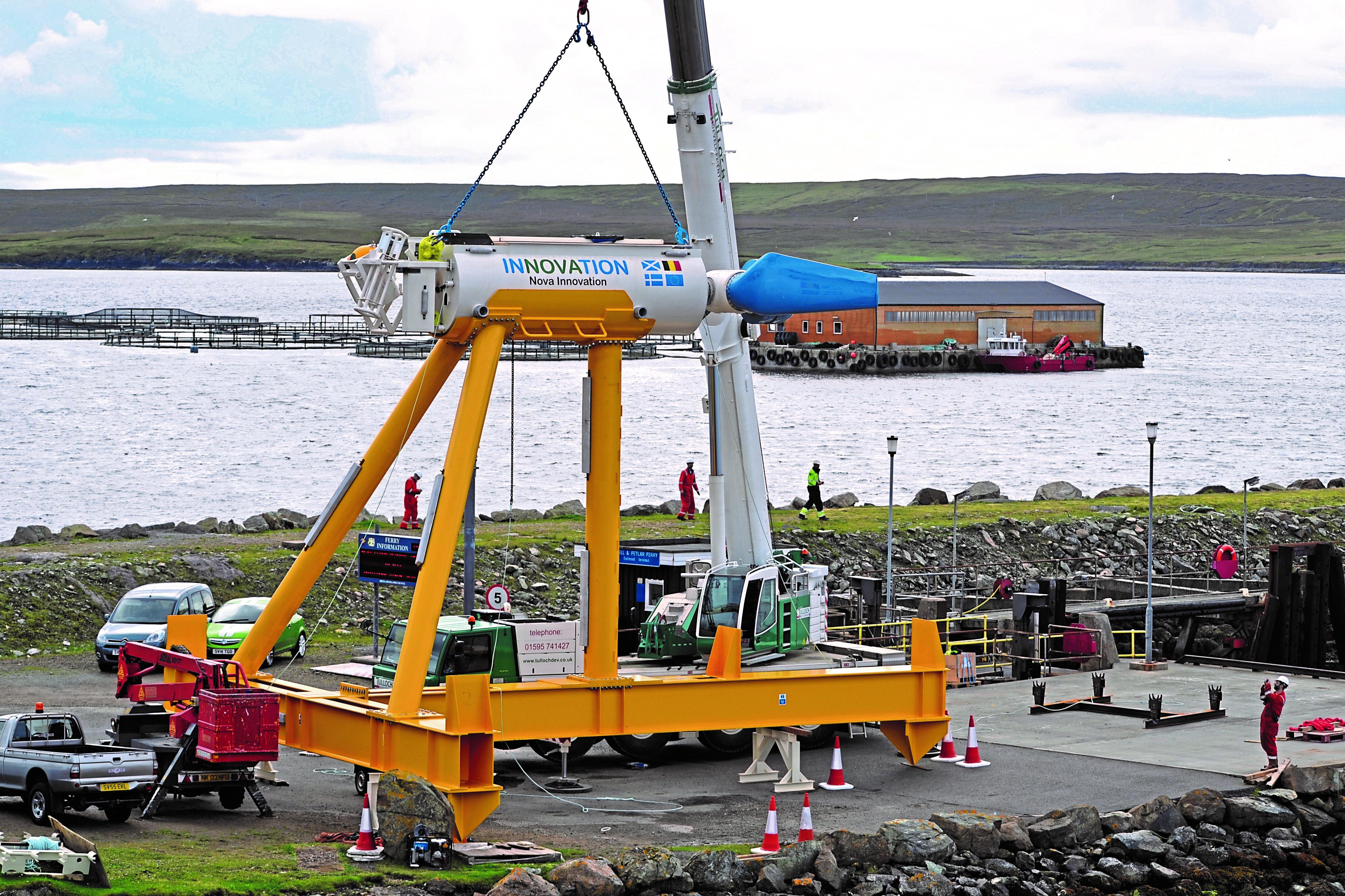 Nova Innovation tidal power