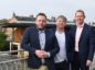 Phil Ponsonby (Chief Executive of Midcounties Cooperative), Greg Jackson (CEO of Octopus) and Tom Hoines (Managing Director of Co-op Community Energy).