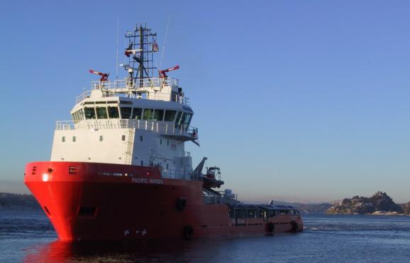 Swire Pacific Offshore's Pacific Warden.