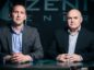 Zenith's Chris Collie and MD Martin Booth