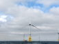 Pictured is Vattenfall's new European Offshore Wind Deployment Centre (EOWDC) in the North Sea near Blackdog.  Picture by DARRELL BENNS     Pictured on 04/06/2018