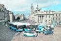 Hydrogen-powered vehicles in Aberdeen.