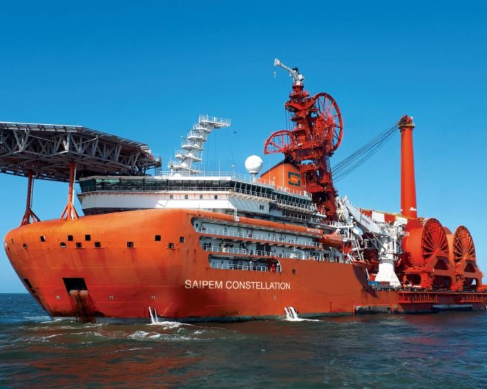 The Saipem Constellation vessel