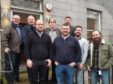 Representatives from Norwegian and UK unions met this week in Aberdeen to discuss helicopter safety. Photo: Atle Espen Helgesen/Industri Energi