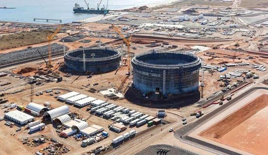 Chevron Corp. built the Wheatstone liquefied natural gas project in Australia at a cost of $29 billion. (Chevron)