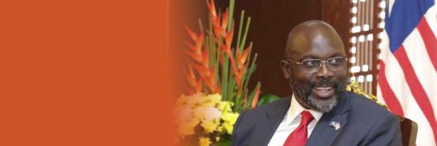 Liberian President George Weah