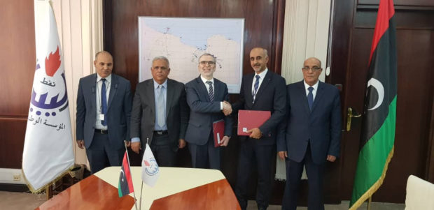 Wintershall has reached a deal with Libya's NOC on two contract areas