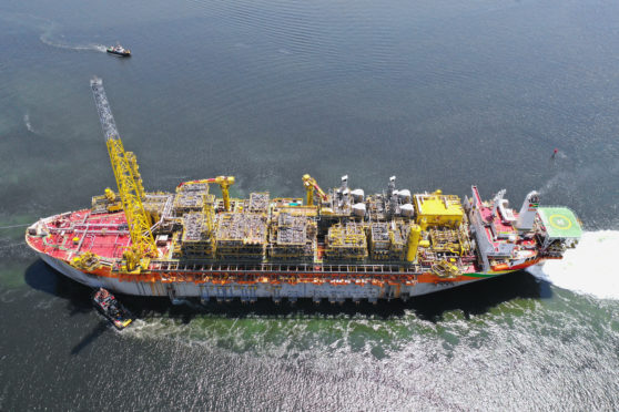 First oil has been lifted via the Liza Destiny FPSO. Pic: SBM Offshore