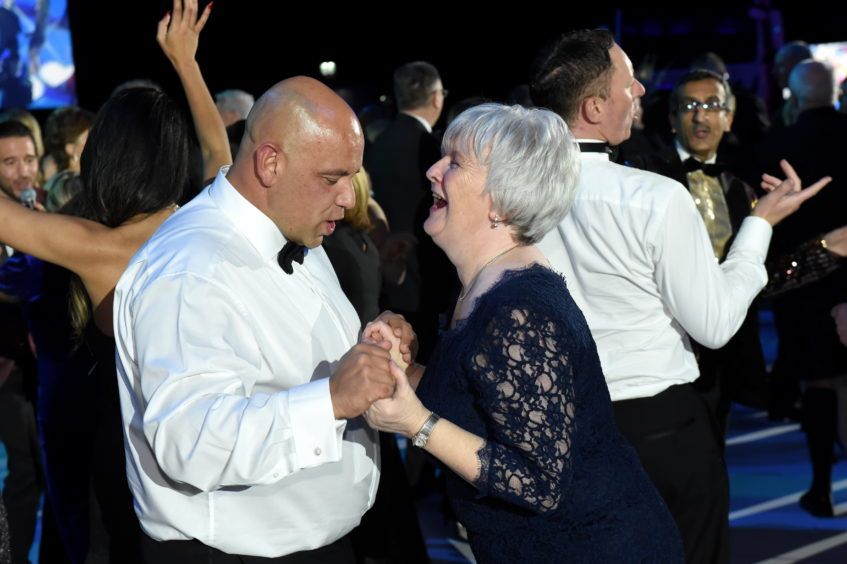 The Press and Journal Energy Ball 2019 at P&J Live.  Picture by KENNY ELRICK     30/11/2019
