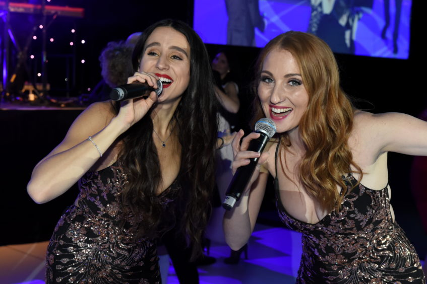 The Press and Journal Energy Ball 2019 at P&J Live. Picture of Club Live performing.  Picture by KENNY ELRICK     30/11/2019