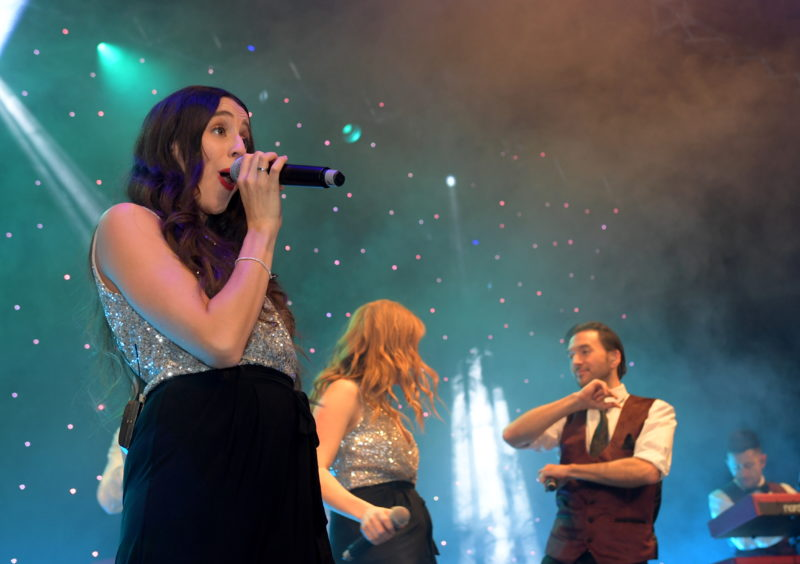 Press & Journal Energy Ball. P&J Live.   30/11/19 Picture by KATH FLANNERY